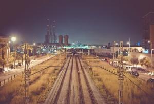 train tracks 002